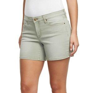 essica Simpson Ladies' Denim Short (Green, 6/28)